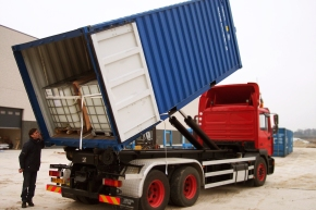 Architect Repurposes Shipping Container Into A Vessel For Transporting Large Amount OfGoods