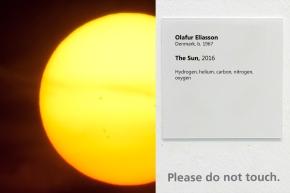 MoMA Accidentally Accredit The Sun To OlafurEliasson