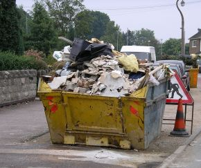 This Rubbish Skip Voted Best Place To Study Architecture