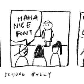 Comic: Architecture School Bully #1