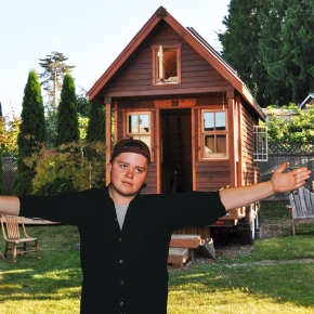 Man Builds Tiny House to Make His Dick Look Bigger